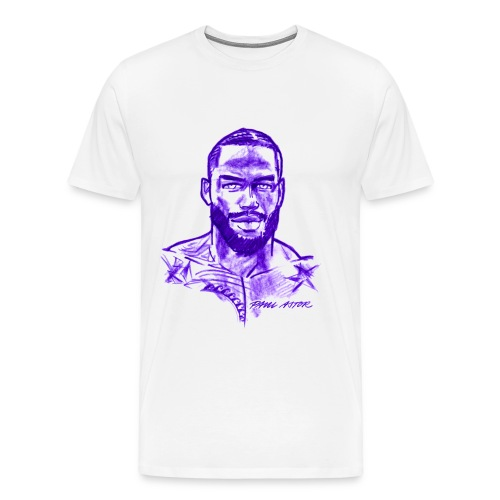 R.J. in purple - Männer Premium T-Shirt