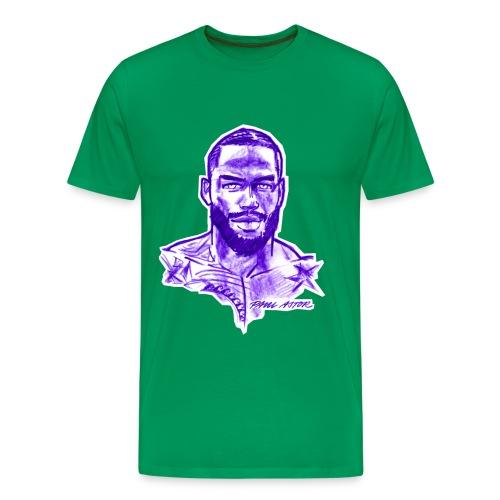 R.J. in purple - Männer Premium T-Shirt