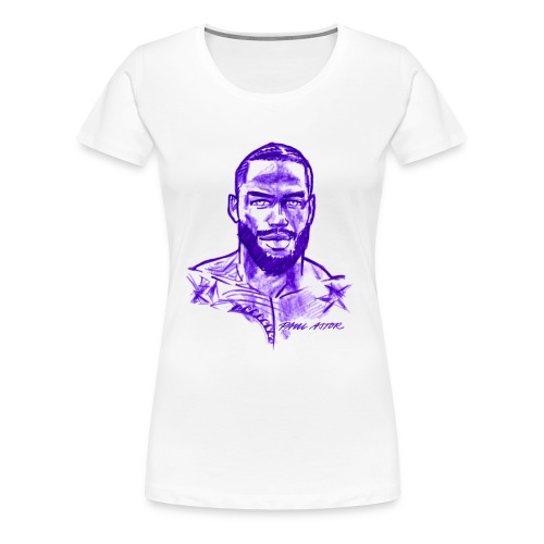 R.J. in purple - Frauen Premium T-Shirt