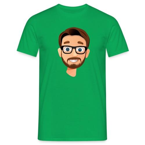 BanKs eSports head t-shirt : kelly green - Men's T-Shirt