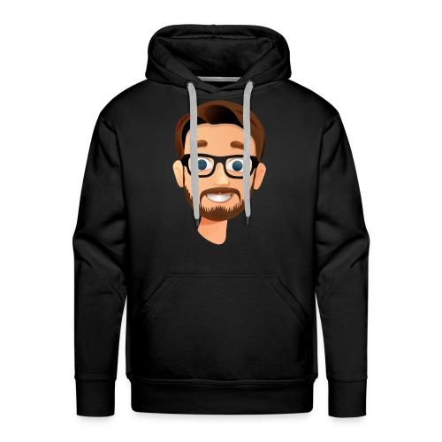 BanKs eSports head hoodie : black - Men's Premium Hoodie