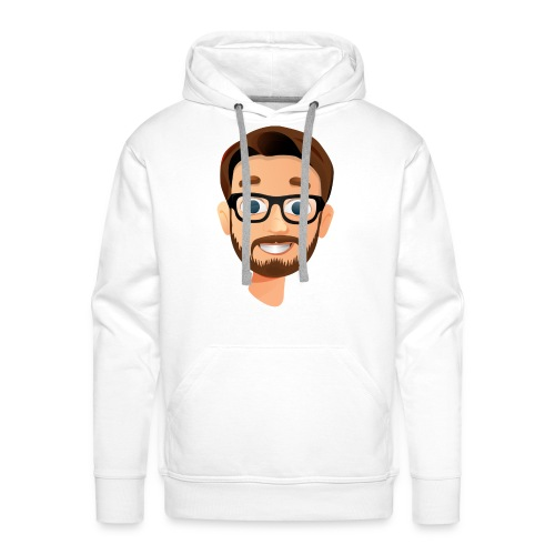 BanKs eSports head hoodie : white - Men's Premium Hoodie