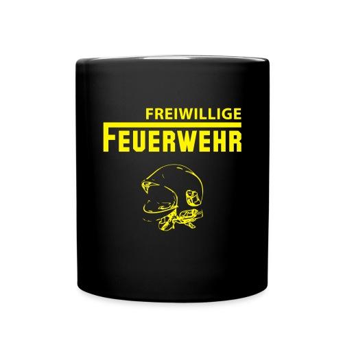 Feuerwehr Tasse  - Tasse einfarbig