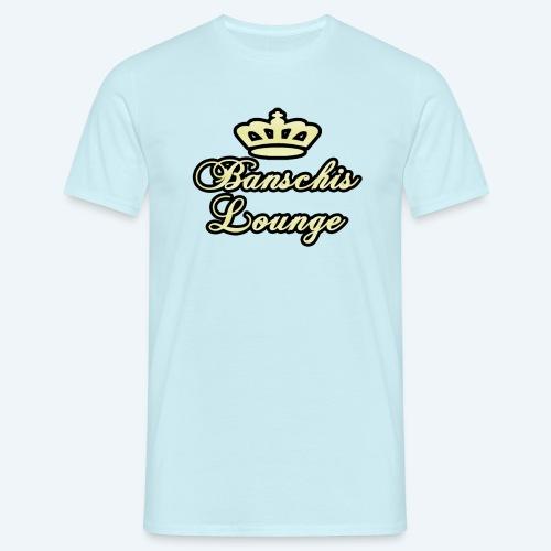 Banschis Lounge Kronen Logo (männlich) - Männer T-Shirt