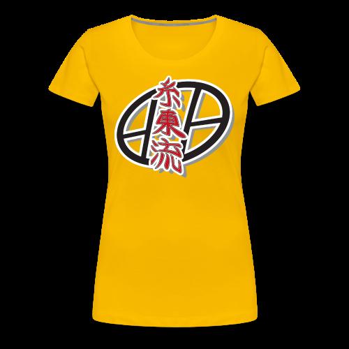Shito-ryu T-shirt - women yellow - T-shirt Premium Femme