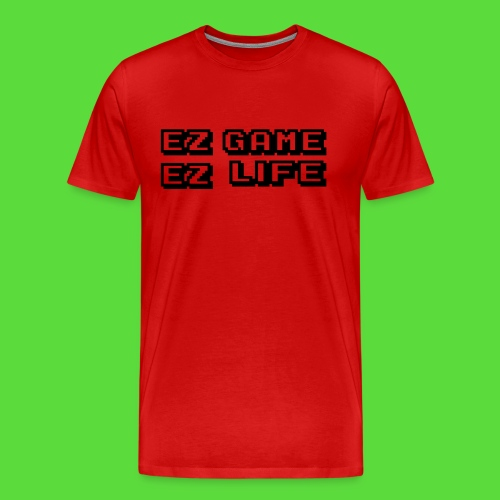 EZ Game. Mens Preimuim Tee - Men's Premium T-Shirt