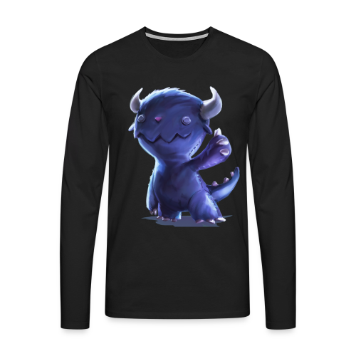 Dream Harvest -Cuddly Monster Men's / Unisex Long-sleeve Shirt - Men's Premium Longsleeve Shirt