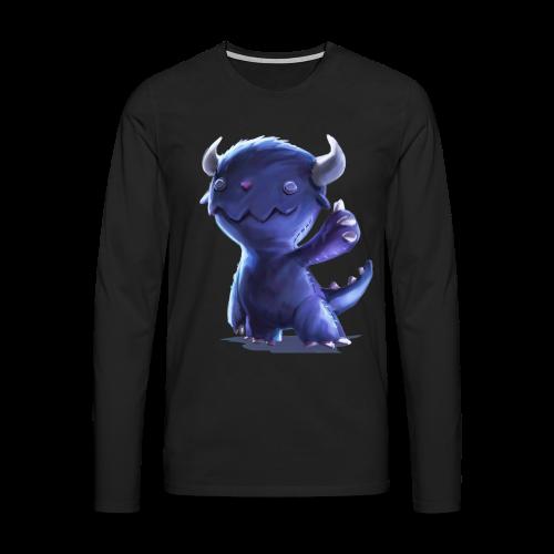 Dream Harvest -Cuddly Monster Men's / Unisex Long-sleeve Shirt - Men's Premium Longsleeve Shirt