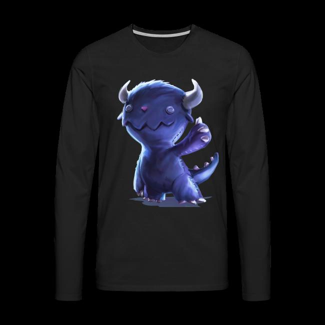 Dream Harvest -Cuddly Monster Men's / Unisex Long-sleeve Shirt
