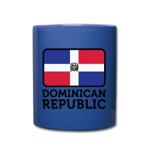 taza republica dominicana - Taza de un color
