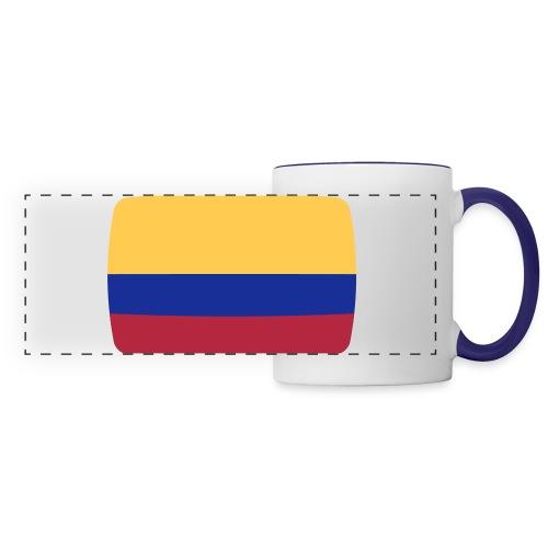 taza panoramica bandera colombia - Taza panorámica