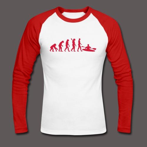 T-Shirt Logo - Männer Baseballshirt langarm