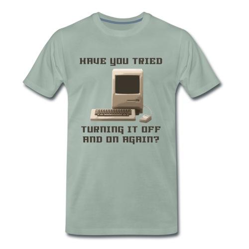 Funny Computer t-shirt - Mannen Premium T-shirt