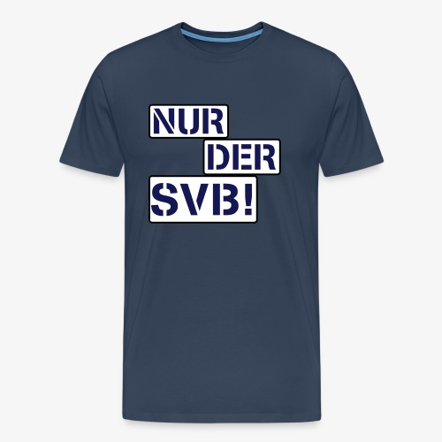 Nur der SVB - Männer Premium T-Shirt