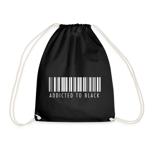 Addicted to Black BAG - Drawstring Bag