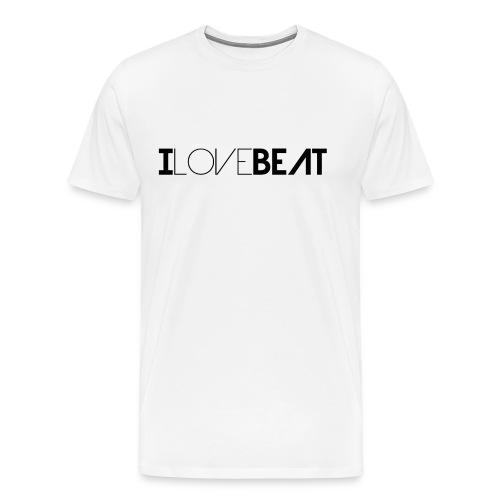 I love Beat - Männer Premium T-Shirt