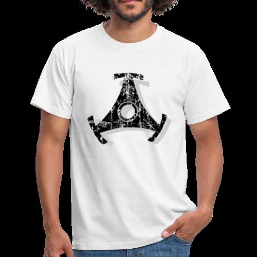 Singlestern Vintage Shadow T-Shirt - Männer T-Shirt