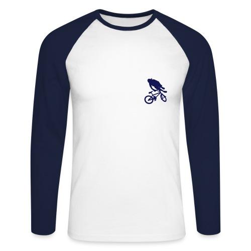mbx_langarm - Männer Baseballshirt langarm