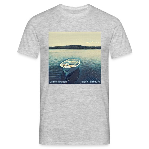 Men's T-Shirt - Block Island, RI - Men's T-Shirt