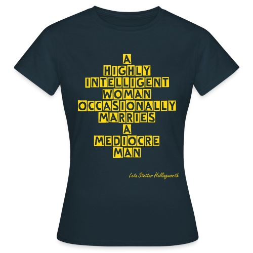 Leta Hollingworth - Women's T-Shirt