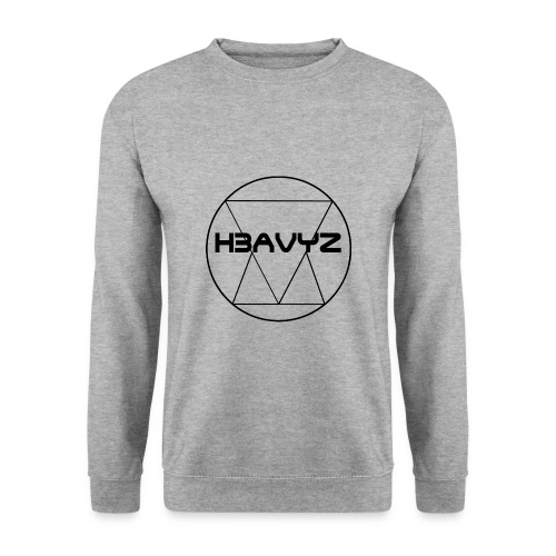 H3AVYZ- Pull gris chiné - Sweat-shirt Homme