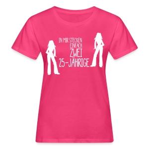 zwei 25Jährige - Frauen Bio-T-Shirt