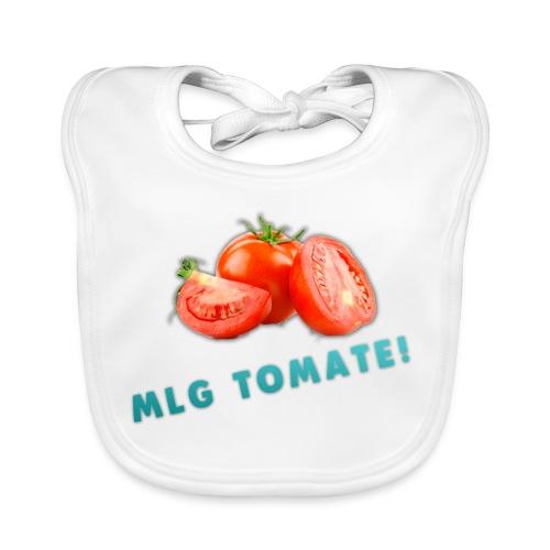 Baby Lätzchen - MLG Tomate - Baby Bio-Lätzchen