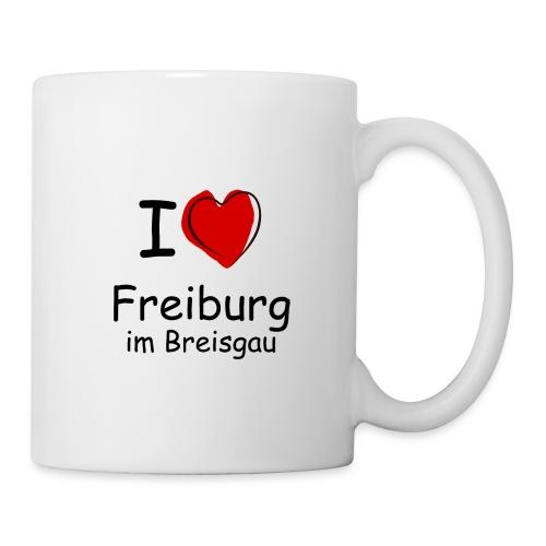 Tasse I Love Freiburg - Tasse