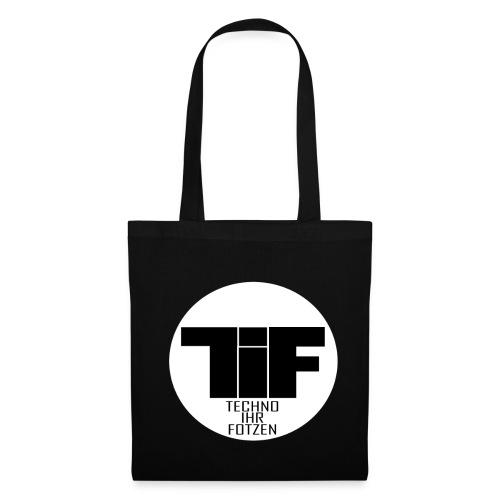 TiF - Jutebeutel Orginal Logo - Stoffbeutel