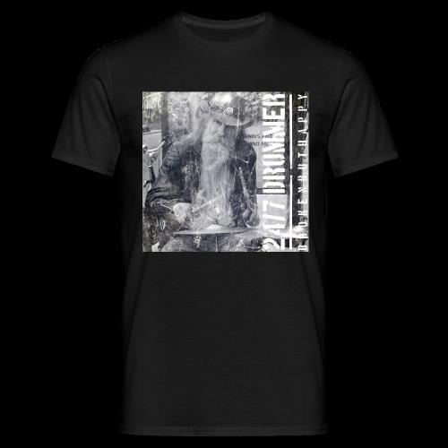 Drumdalf - Männer T-Shirt - Schwarz - Männer T-Shirt