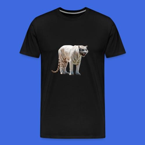 Tigre blanc - T-shirt Premium Homme