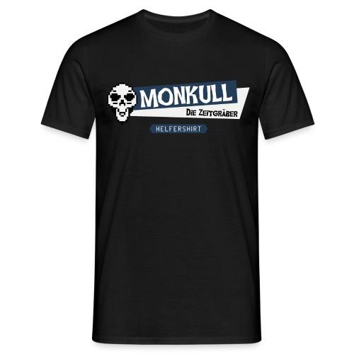 Monkull Helfershirt - Männer T-Shirt
