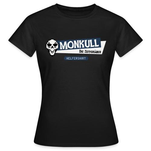 Monkull Helfershirt - Frauen T-Shirt