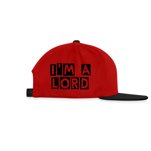 Casquette FrenchLord - Casquette snapback