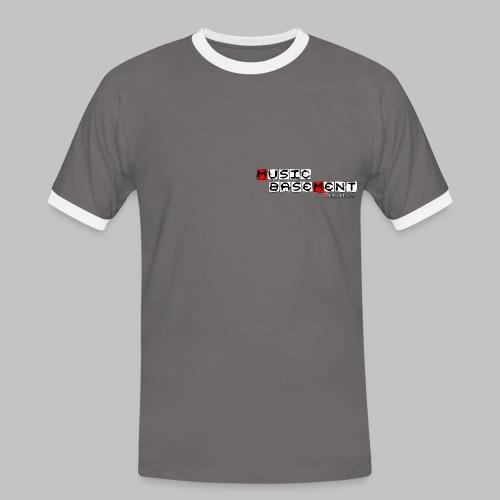 Music Basement- Retro Collection - Regular - grey - Männer Kontrast-T-Shirt
