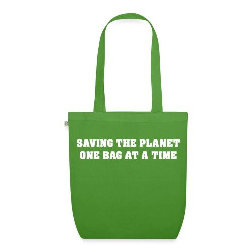 Saving The Planet Bag - EarthPositive Tote Bag
