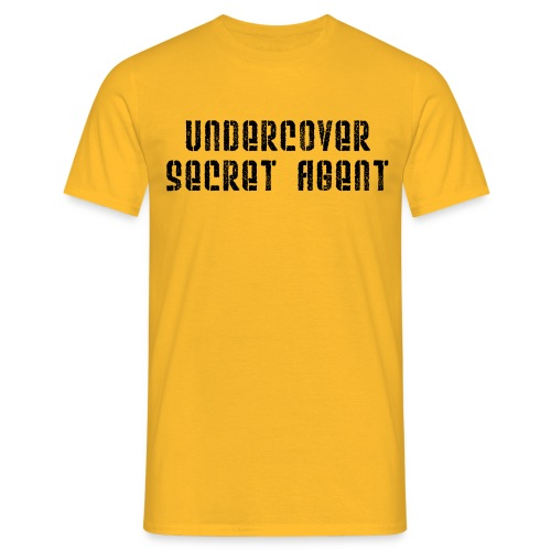 Undercover Secret Agent - Men's T-Shirt