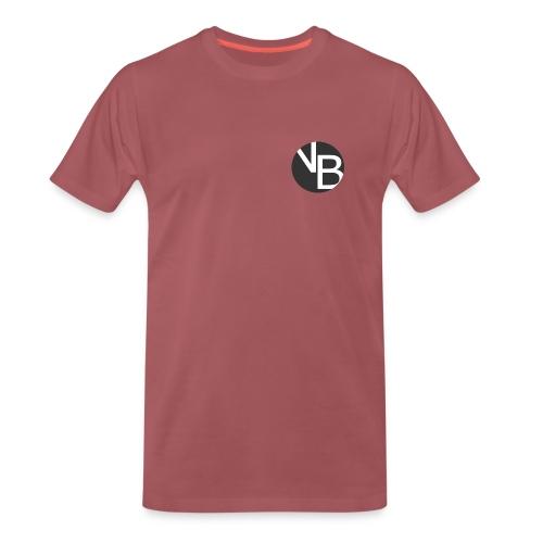 Burgundy Basic Mens - Men's Premium T-Shirt