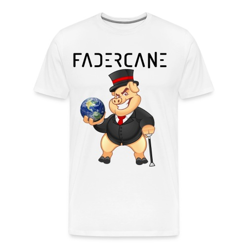 Men T-shirt Fadercane Pig w/Name - Men's Premium T-Shirt