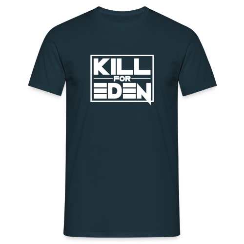 Mens T White Logo - Men's T-Shirt