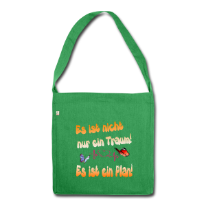 Schultertasche aus Recycling-Material