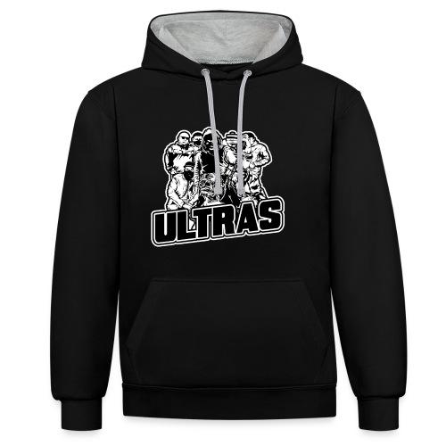 Sweat ULTRAS - Sweat-shirt contraste