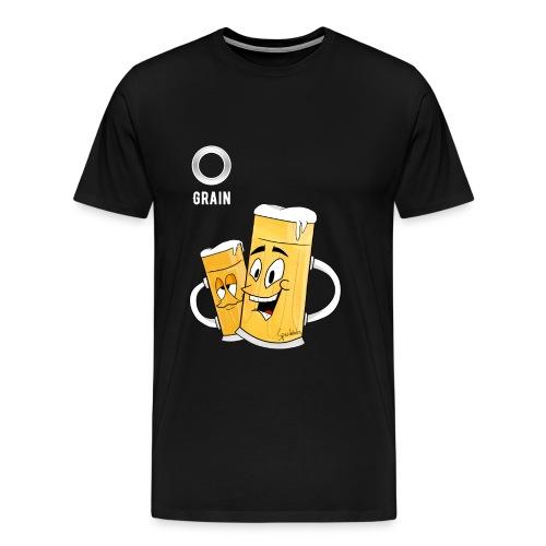 Partyshirt - Eigener Spruch - Artwork by Spazdables | Männer - Männer Premium T-Shirt