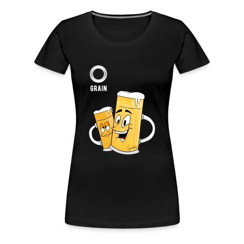 Partyshirt - Eigener Spruch - Artwork by Spazdables | Frauen - Frauen Premium T-Shirt