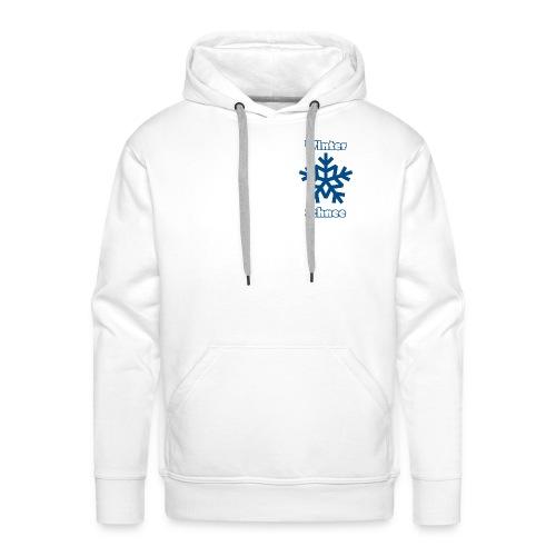 Kapuzenpullover - Winter und Schnee - Männer Premium Hoodie