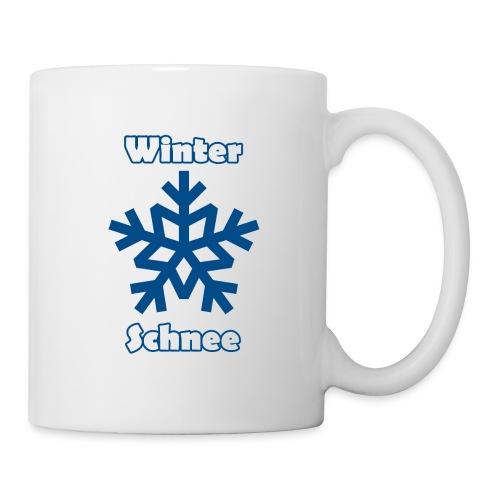 Tasse - Winter und Schnee  - Tasse