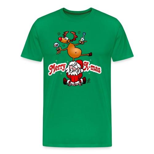 Merry X-mas - Merry Christmas T-Shirts - Men's Premium T-Shirt