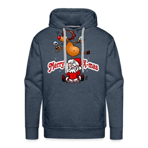 Merry X-mas - Merry Christmas Hoodies & Sweatshirts - Men's Premium Hoodie