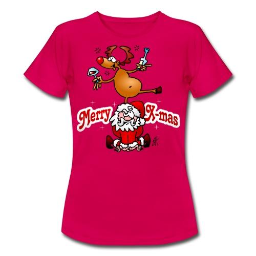 Merry X-mas - Merry Christmas T-Shirts - Women's T-Shirt