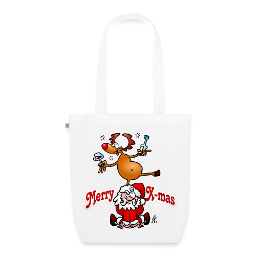 Merry X-mas - Merry Christmas Bags & Backpacks - EarthPositive Tote Bag